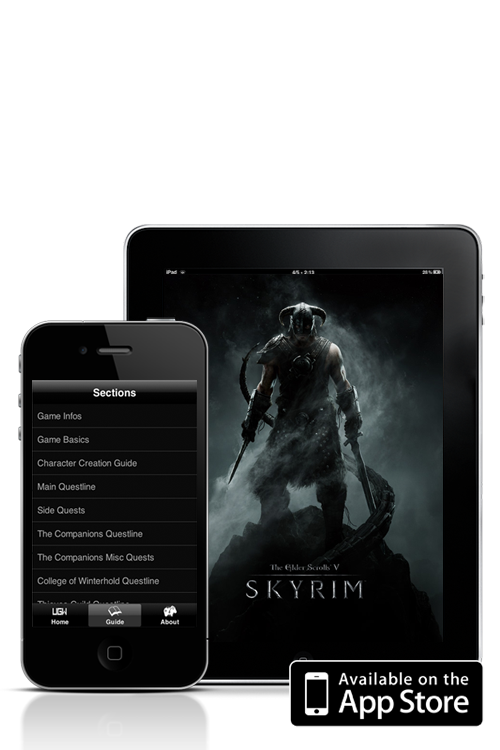 The Guide - Skyrim Edition ! Available on iPhone and iPad